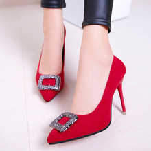 2019 New Super Gas Field Women Single Shoes Pointed Shallow