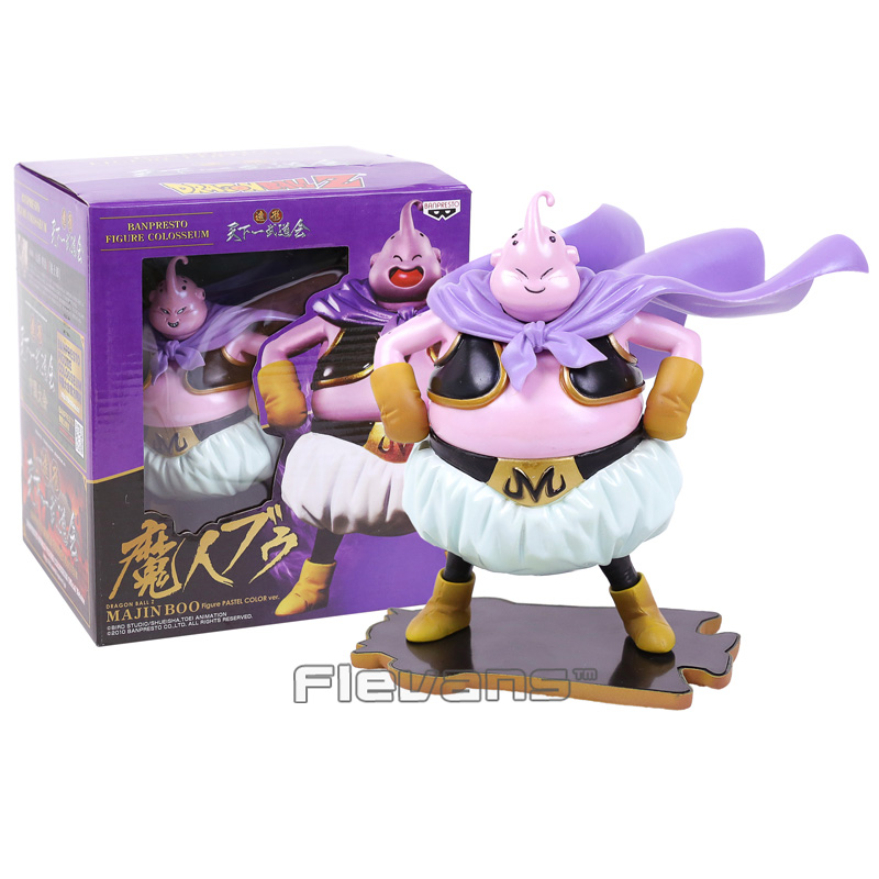 Anime Dragon Ball Z Majin Boo Pastel Color ver. PVC Figure Collectible Model Toy (face can change)14.5cm shfiguarts batman injustice ver pvc action figure collectible model toy 16cm kt1840