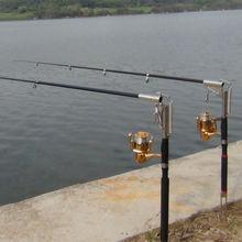 2.1 м. и 2.4 м.и 2.7 м.и 3.0 м, автоматическая удочка (без катушки), для моря, реки, озера, бассейна, удочка со скобой из нержавеющей стали