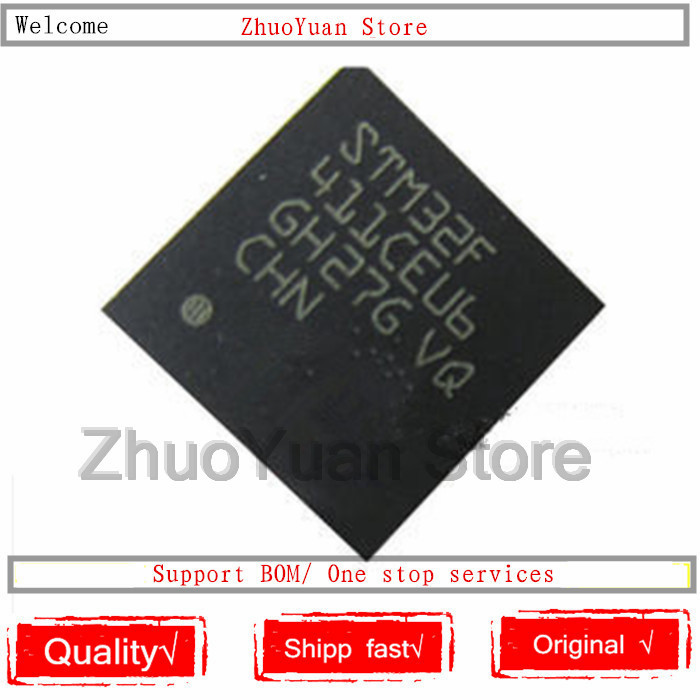1PCS/lot STM32F411CEU6 STM32F411CE STM32F411 STM32 F411CEU6 QFN48 New Original IC Chip