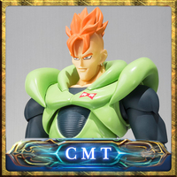 BANDAI Tamashii Nations Original Dragon Ball Android NO 16 Z S H Figuarts Action Figure