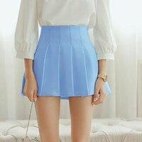 American School Style Fashion Women Elegant TENNIS Pleated Mini Skirts High Waist Casual Girls Skirts Women