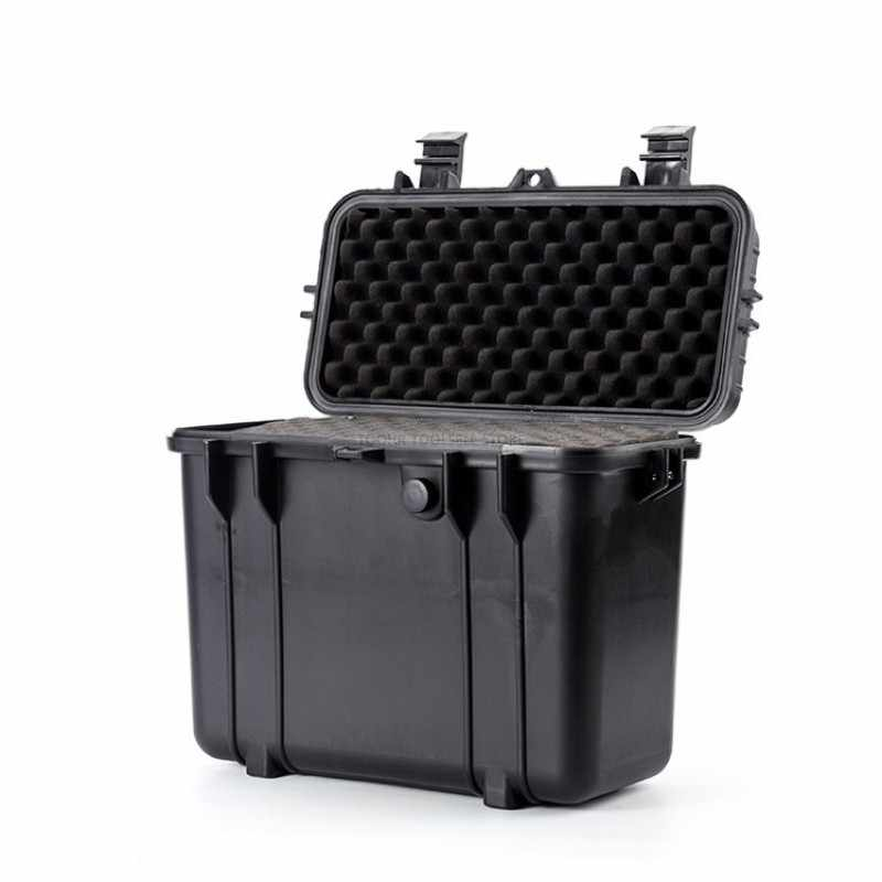 Alat Koper Plastik Disegel Tahan Air Peralatan Safety Case Kering Box Outdoor Equipment Tool Box 430X244X341 Mm