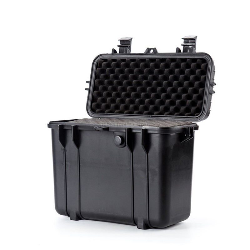 Tool Case Suitcase Plastic Sealed Waterproof Safety Equipment Case Dry Box Outdoor Equipment Portable Tool Box 430x244x341mm