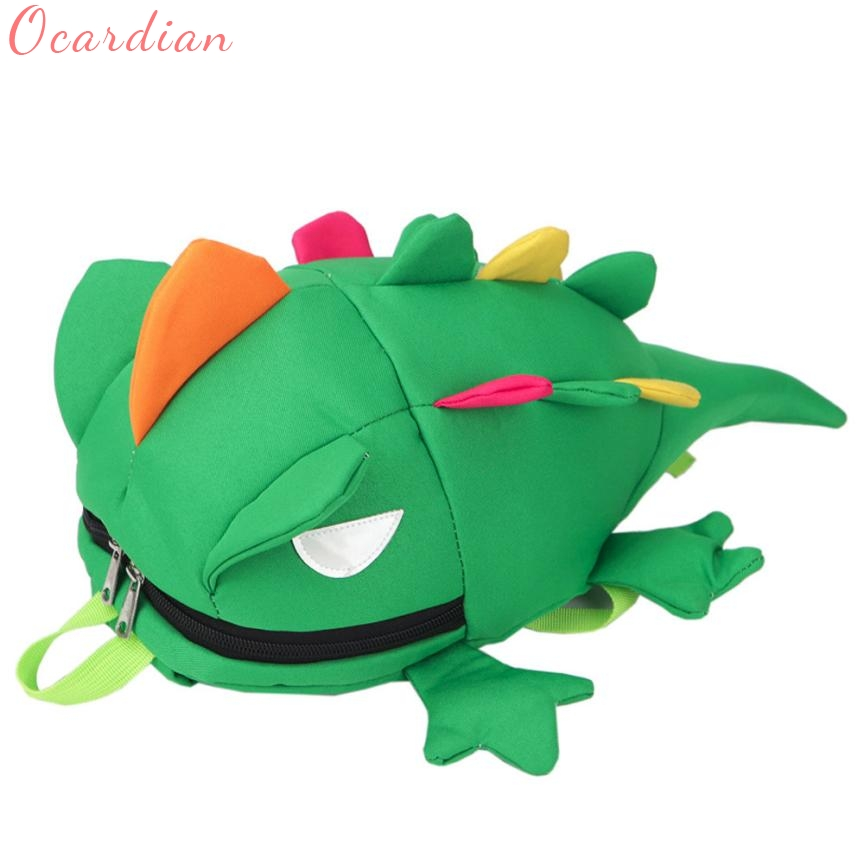 OCARDIAN Elegance New Baby Girsl Boys lizard Cartoon Zipper Backpack School Bags Shoulder Bag 17Aug01 Dropshipping