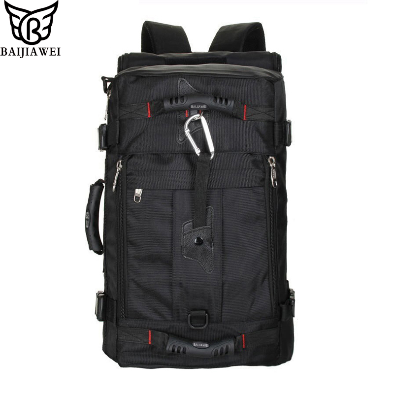 BAIJIAWEI Hot Sale Large Capacity Backpacks Waterproof  Bag Travel Backpack Multifunctional Bags Luggage Backpacks Laptop Bag hot sale 2017 pencil golf bag men double thickening cotton travel bag for golf clubs with wheels large capacity storage golfbag
