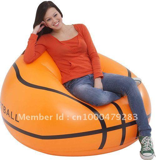 inflatable basketball sofa ,pvc ,air ,  -  Beyond Sporting Gear Co., Ltd store