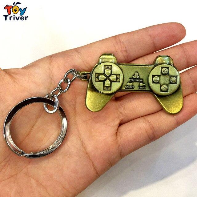 af9cceca38f Groothandel 100 stks Playstation Game Controller sleutelhanger tas hanger  accessoires speelgoed gift voor man vriendje game