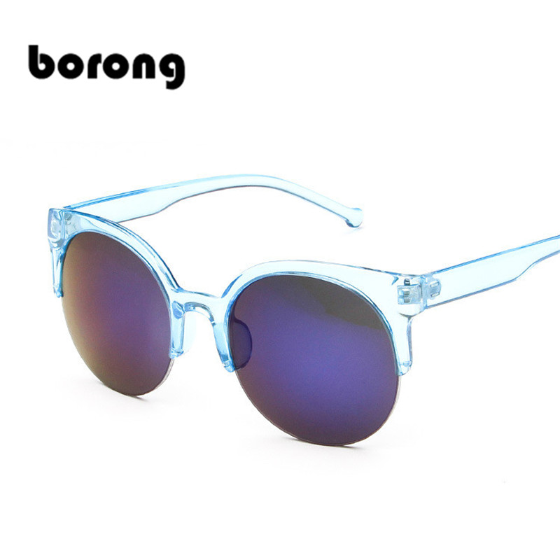 Borong 2017 New Trendy Special LENS Sunglasses Round Shape Cs