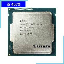 Intel processador quad core, processador de i5 4570 ghz quad core cpu 6m 84w lga 4570 da intel core 3.2 i5 1150 ghz