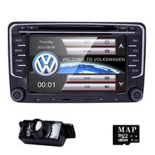 Два din 7 дюймов dvd-плеер автомобиля для SKODA/Octavia/Fabia/Rapid/Yeti/Superb/ VW/сиденье с 3G Радио fm GPS навигации 1080 P Ipod Географические карты