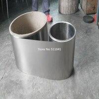 Titanium Ti Gr2 Grade 2 ASTM B265 Thin Plate Sheet Foil 0 2x240x45000 Mm 10kgs