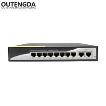 8+2 100Mbps PoE Switch Power 8 Ethernet Port 2 Uplink Port 2.0Gbps over Ethernet IEEE 802.3af at 150W for Camera Wireless AP цена и фото
