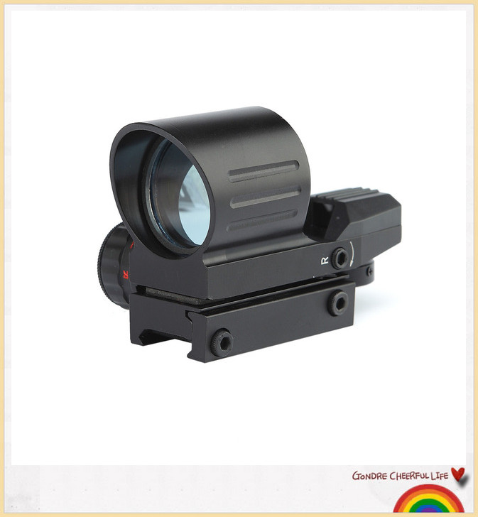 Airsoft Tactical Holographic Reflex 4 Reticles Red Green Dot Sight Scope 21mm Rail Airsoft For Hunting