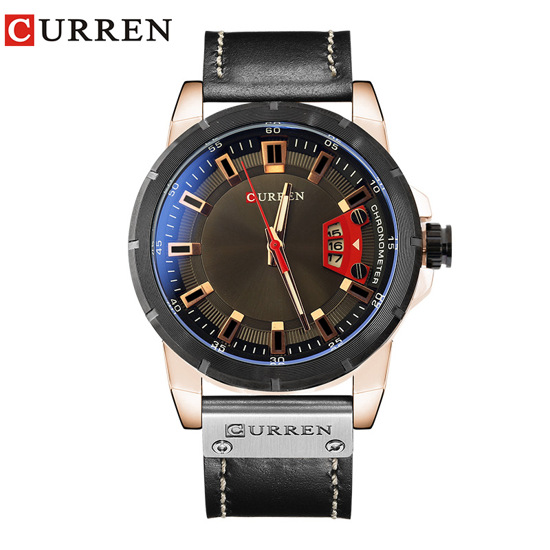 2018 New CURREN Watch Men Fashion Casual Quartz Watches Luxury Brand Mens Army Military Sport Wristwatch Relogio Masculino Gift