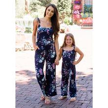 Одежда mommy and me в европейском и американском стиле Летний