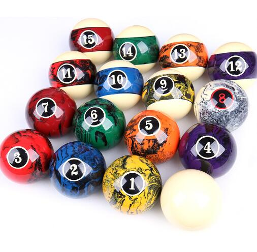 2018 New Cuppa Billiard Balls One Set of 57mm Balls Bright Crystal Balls Black Eight Balls 16 Color Billiard Sell for Sets-in Snooker & Billiard Accessories from Sports & Entertainment    1