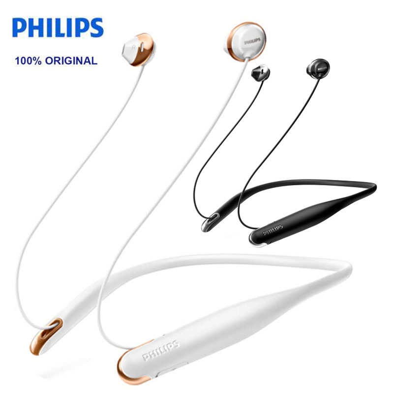 Philips SHB4205 in Ear earphone Neck Hanging Pleasant Wireless Bluetooth  Headset for huawei xiaomi Samsung Official original-in Bluetooth Earphones  ... 34fc7c3b32