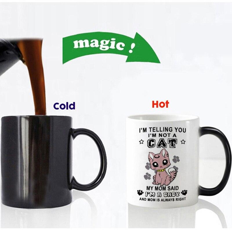 im not a cat im a baby magic mug