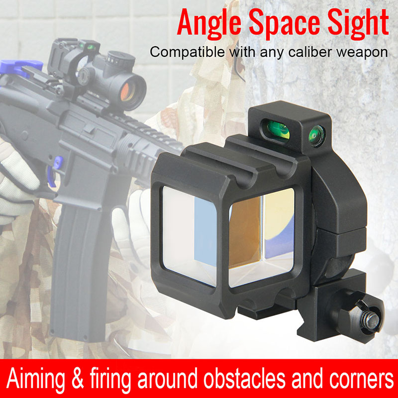 купить Canis Latrans Tactical Angle Sight Reflex Behind Corner Sight 360 Rotate Reflect Mirror For Outdoor Hunting Wargame gs1-0401 по цене 3185.94 рублей