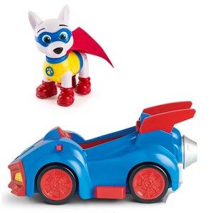 Image 2 - Игрушечный автомобиль «Щенячий патруль», аниме фигура аниме из ПВХ, игрушка для детей, подарок