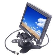 Audio Video AV retrovisor del coche Monitor 7 » Color TFT LCD trabajo con DVD / serveillance cámara / STB / receptor de satélite K352 7 pulgadas 7 pulgadas