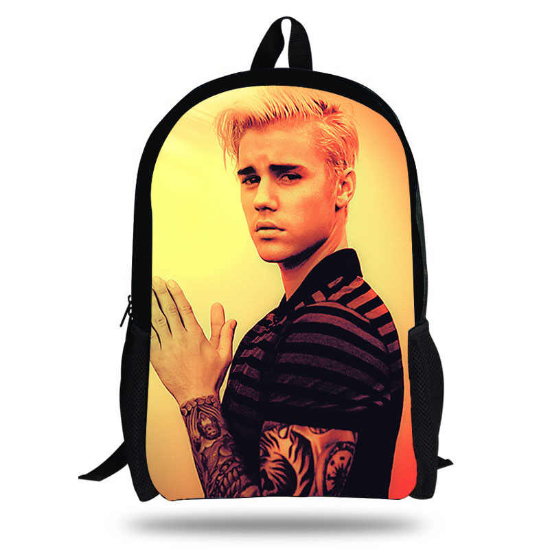 Detail Feedback Questions about Calopaker 2018 Newest Happy Satchels Justin  Bieber Fashion School Bags for Childrens Backpacks for Teen Girls Book Sac  ... feb0b152a0
