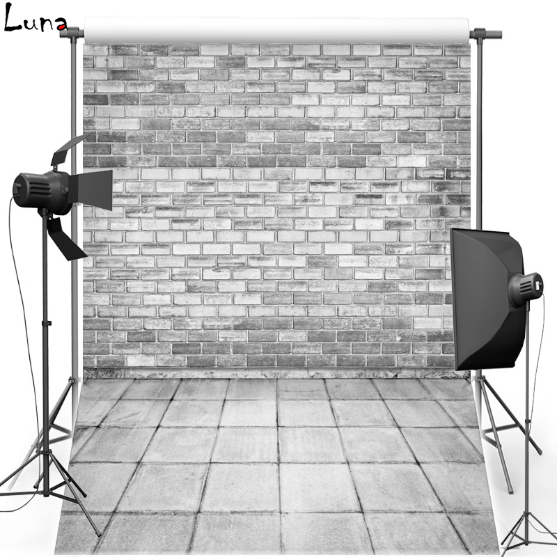 Grey Brick Wall Vinyl Photography Background Backdrop For Children New Fabric Flannel Photo Background For Photo Studio 2595 vinyl photography background backdrop for wedding concrete wall new fabric flannel background for children photo studio 774