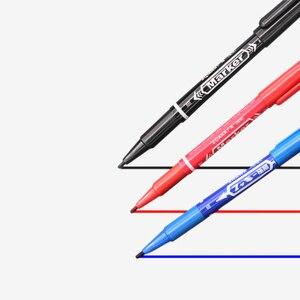 Image 2 - 3 PCS עטי סמן עור מרקר עט סופר כלי קבוע קעקוע אספקת טוב עמיד למים דיו דק גולמי ציפורן ציפורן חדש נייד