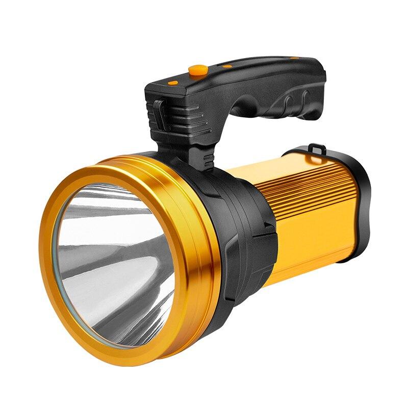 1 pièces lampe torche lumineuse lampe de poche projecteur LED poche Rechargeable Portable pour extérieur MU
