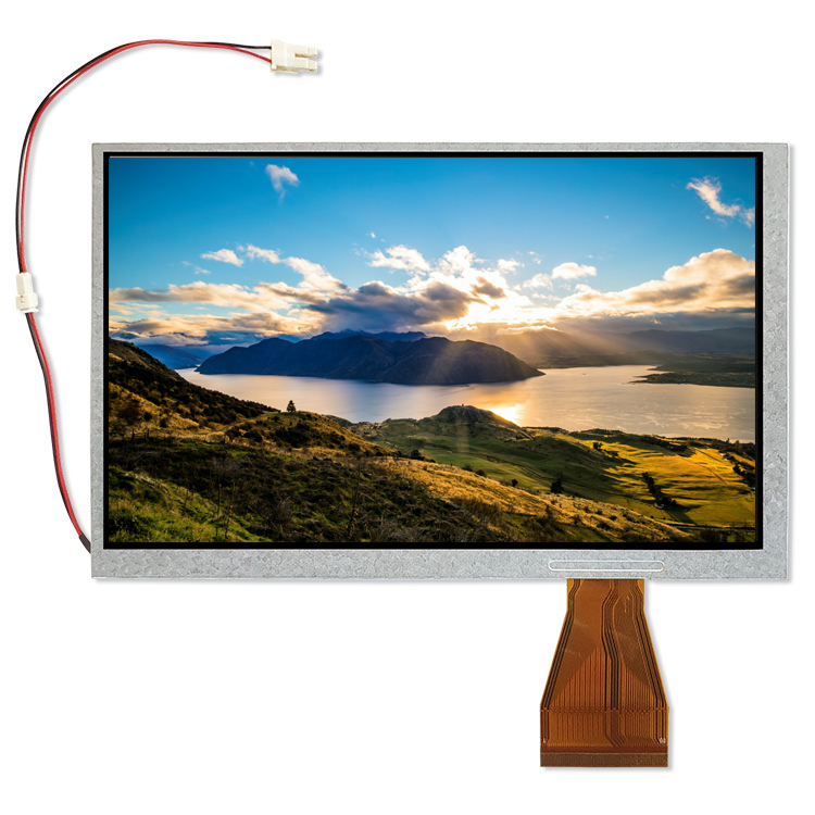 <font><b>7</b></font> inch display resolution <font><b>800</b></font> x 480 TFT-LCD For Raspberry Pi <font><b>3</b></font> 2B B image