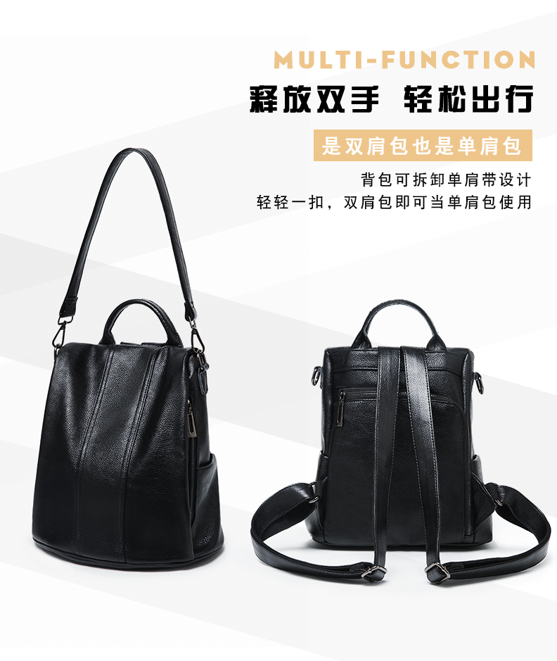 e3fd53a8bdc9 Designer Women s Backpacks Genuine Leather Female Backpack Woman Korean  Style Ladies Strap Laptop Bag Daily Backpack Girl School. 8 01 8 02 8 03  8 05 8 06 ...