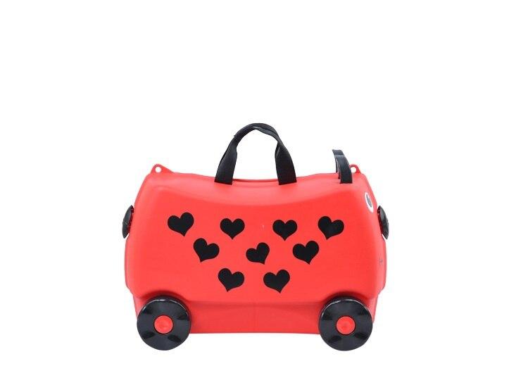 """20 """"zoll Kinder Gepäck Koffer, Kind Kind Jungen Mädchen Pp Cartoon Tiger Spielzeug Trolley Box Reisenden Pull Stange Stamm"""