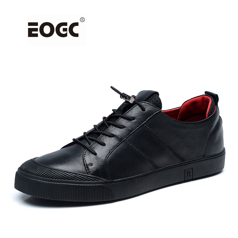 Pleine fleur chaussures hommes en cuir Qualité chaussures décontractées Respirant Automne chaussures de marche Hommes Mâle Mocassin Mocassins Sapatos Homens