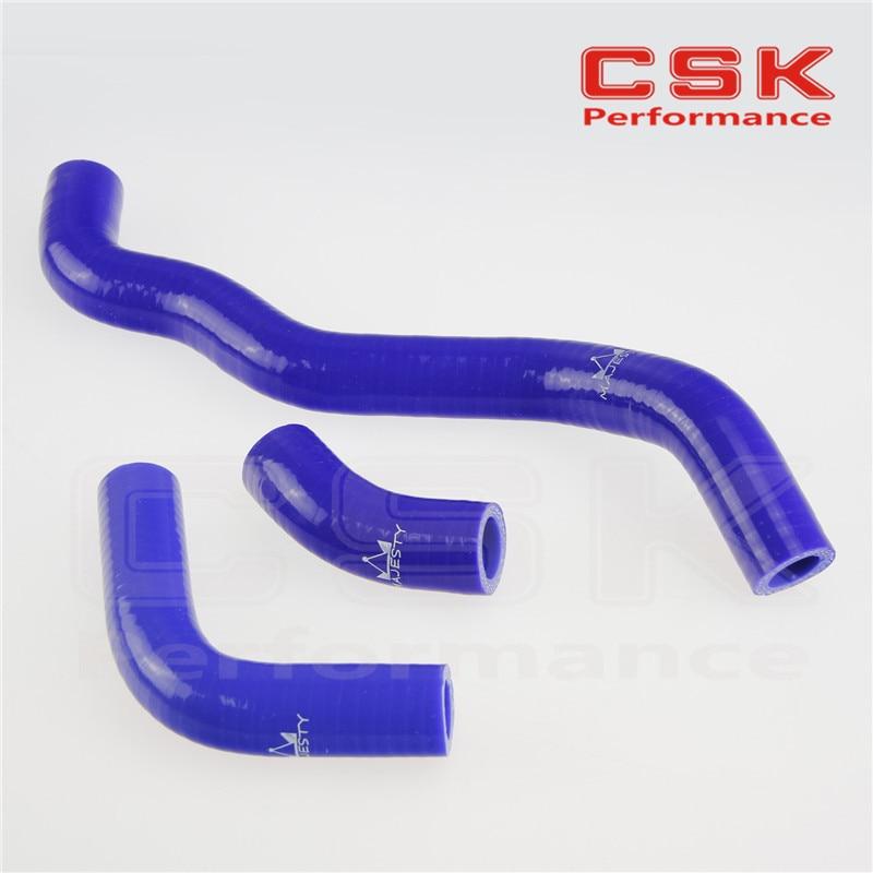 Силиконовый радиатор охлаждающей жидкости шланг для SUZUKI DRZ400S/DRZ400SM Drz400SL 2002-2011 Синий