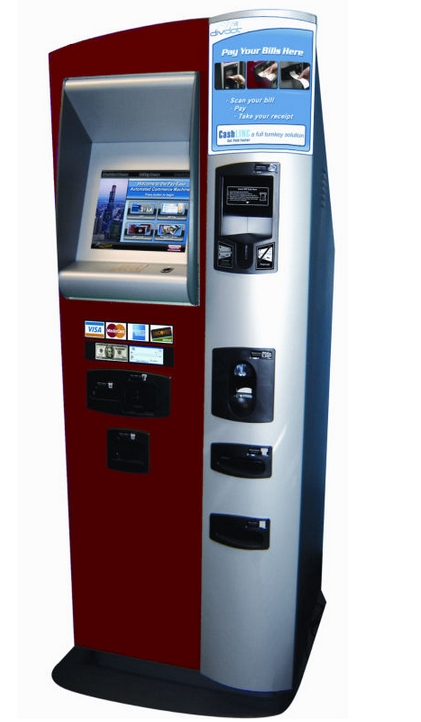 Custom Bank ATM  Atm Safe Theftproof Lcd Wifi Touch Screen ATM With Cash And Coin Payment Kiosk Electronic Consumer Machine