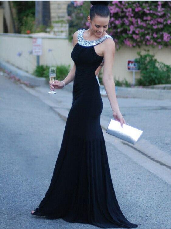 Black Elegant Evening Dresses Size 12 Fashion Design Images
