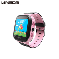 WINBOB Q528 Y21 Smart Watch GPS Tracker Monitor SOS Call with Camera Lighting Baby Smartwatch for Kids Child PK Q750 Q100 Phone