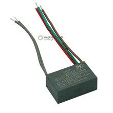 CBB61 çalıştırma tavan fanı kapasitörü 4uf + 4uf + 2.5uf 5 tel 250 V/300VAC BM