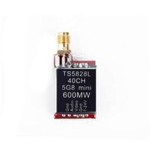 TS5828L Micro 5.8G 600 mW 40CH Mini FPV Transmetteur Avec Affichage Numérique Pour RC Pièces