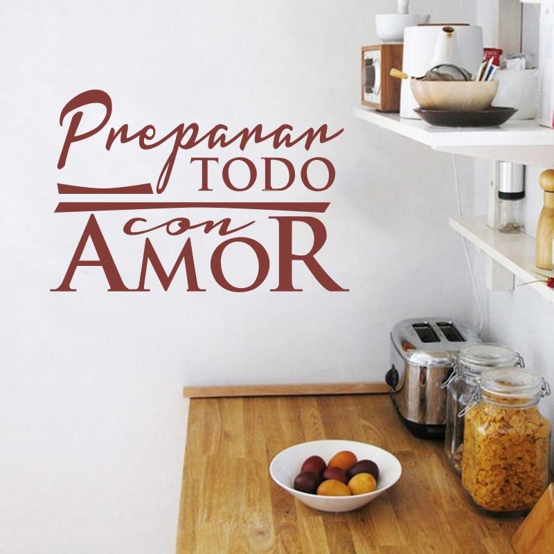 Αυτοκόλλητα Κουζίνα Ισπανικά - Διακόσμηση σπιτιού - Φωτογραφία 3