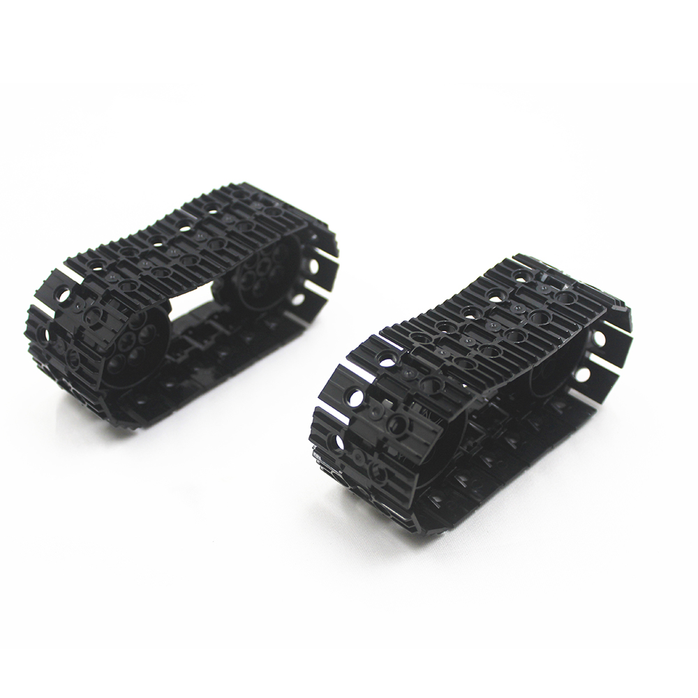 MOC Technic Parts 40pcs Technic TRACK ELEMENT, 5X1.5 + 4pcs SPROCKET, DIA40,7 Compatible With Lego For Kids Boys Toy
