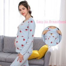 68a8bad9d9f 2019 New Women s Maternity Tunic Tops Mama Clothes Flattering Side Ruching  Long Sleeve Scoop Neck Pregnancy