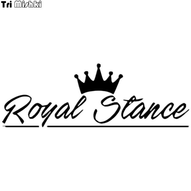 tri mishki hzx497 12 35 2cm words royal stance crown pattern car