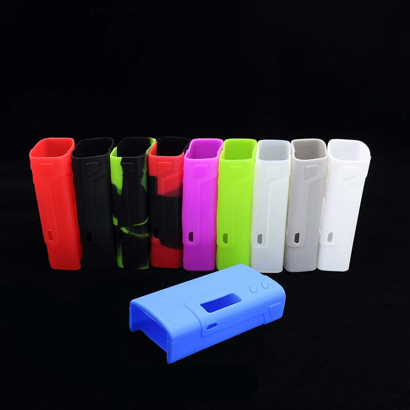 3pcs Vape Accessories Mod Protective Colorful Silicone Case Sleeve Cover Skin fit for Sigelei Fuchai 213 Box Mod