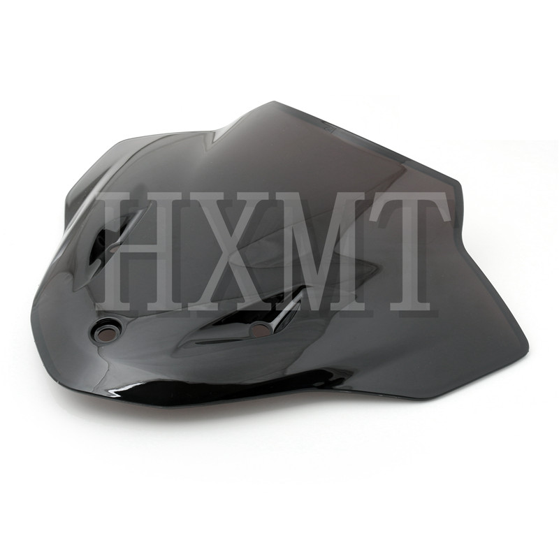 Image 2 - For BMW S1000R S 1000R 1000 R 2014 215 2016 2017 black Windshield WindScreen Double Bubble S 1000 R 14 15 16-in Windscreens & Wind Deflectors from Automobiles & Motorcycles