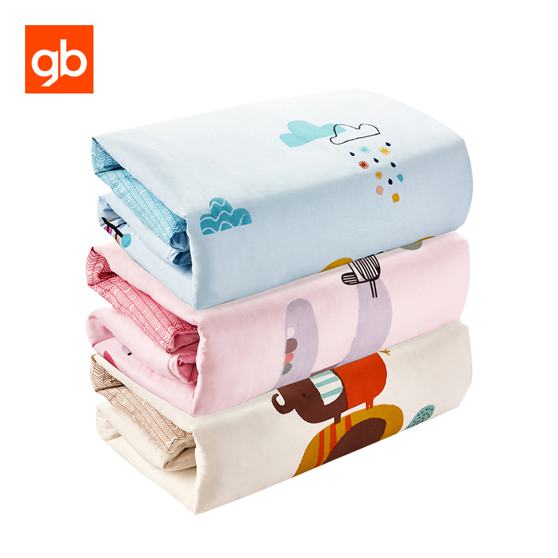 GB Newborn Baby Bedding Quilt Nursing Care Baby Quilt Thick Warm Soft Baby Bedding Cover Cotton Breathable Quilts 120 x 150cm 8 layers baby muslin cotton blanket & swaddling bedding thick warm newborn wrap autumn &winter children bedding quilt 120 120cm