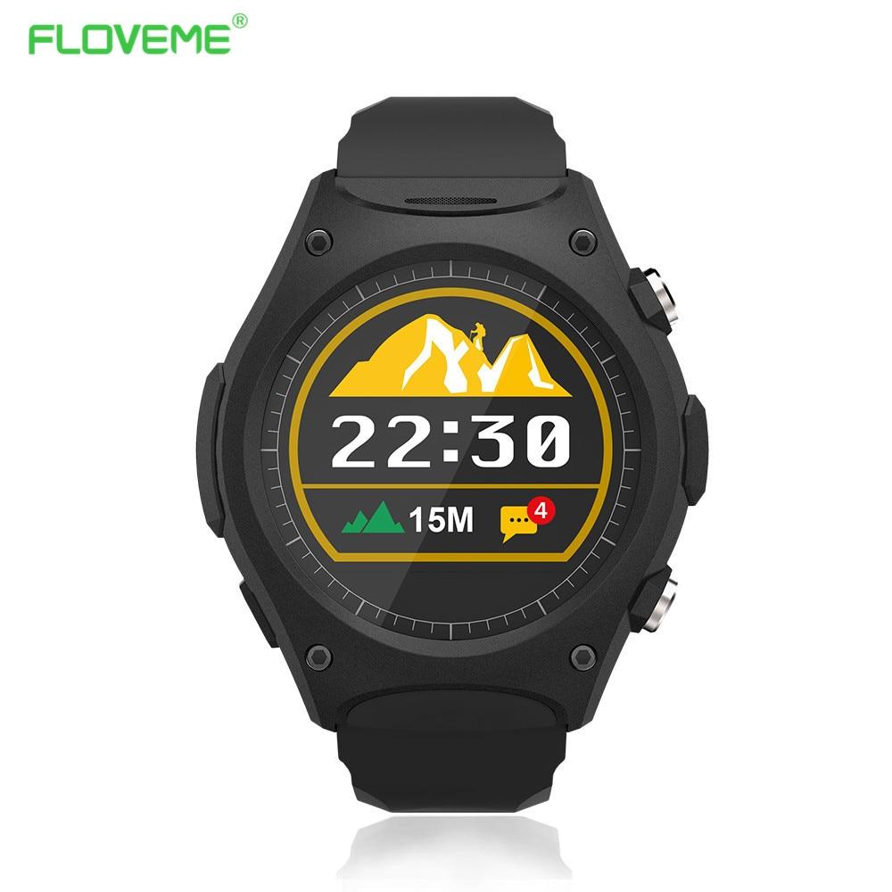 FLOVEME Sport Smart Watch Bluetooth MTK2502c font b Smartwatch b font Wristband Heart Rate Monitor Pedometer