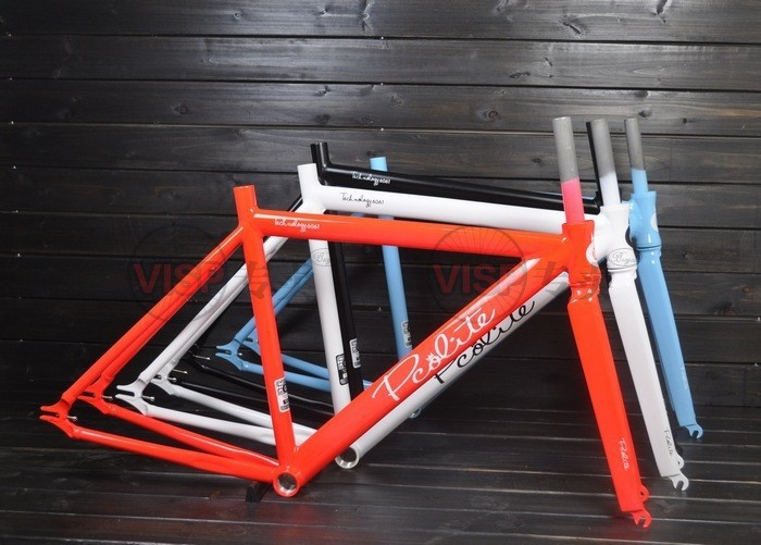 fixie Bicycle Fixed gear PCO frame and fork fixie bike frameset ...