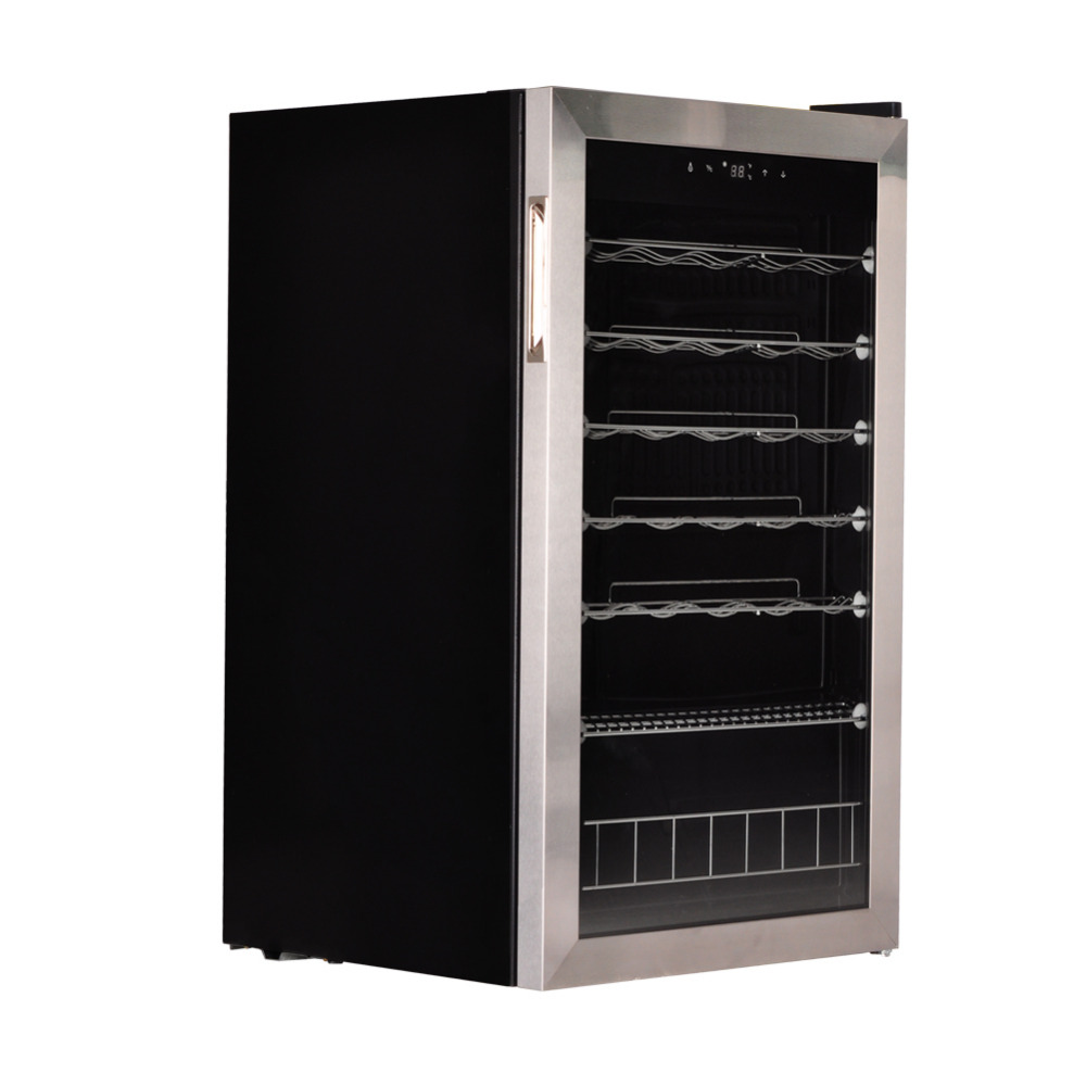 smad 88l compressor electric wine fridge cabinet 35 bottle champagne wine chiller bar cooler cellarin wine from